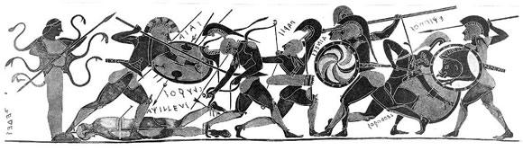 Role pohřebních obřadů ve starém Řecku: Homér, Hérakleitos, mrtvoly a výkaly